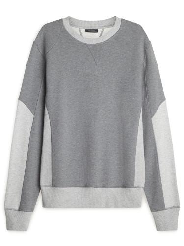 Belstaff - Matterley Sweatshirt - -ú175 - Dark Grey Pale Grey - 71130366 J61A0066 09957.jpg