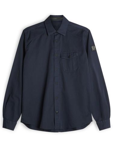 Belstaff - Steadway Shirt - £150 - Navy Blue - 71120141 C61A0354 80093 (2).jpg