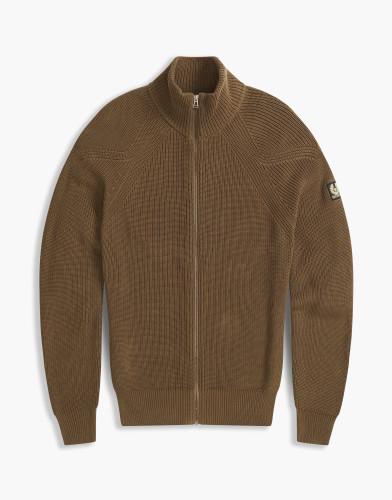 Belstaff - Parkgate Zip Cardigan -£225 - Bark Brown - 71160114 K61A0037 60049.jpg