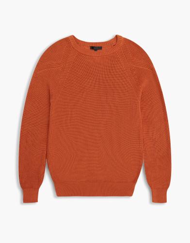 Belstaff - Parkland Crewneck - £175 - Dusty Orange - 71130372 K61A0037 70031.jpg