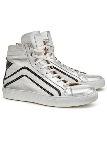 Belstaff - Dillon Sneaker - £325 - Silver - 77851285 L81N0563 01616 - ii.jpg