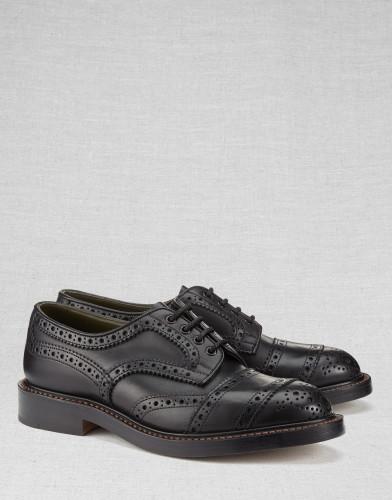 Belstaff x Trickers - Phoenix Shoes - -ú475 - Black - 77800170 L81N0534 90000.jpg