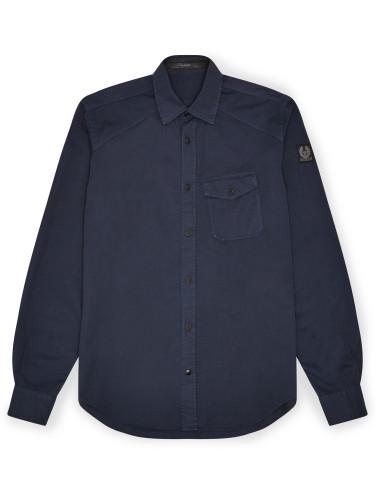 Belstaff - Steadway Shirt - £150 - Navy Blue - 71120141 C61A0354 80093.jpg
