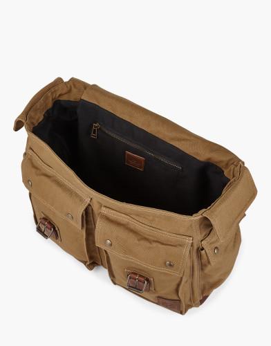 Belstaff - Colonial Messenger Shoulder Bag - Khaki - £350 - 75610370 C61N0118 10070 - i.jpg