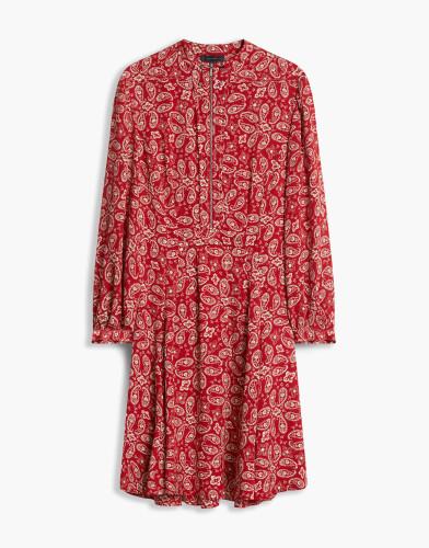 Belstaff - Orla Printed Dress - Carmine Red - 72090376 C50N0417 50037.jpg