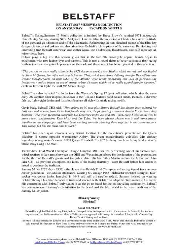 Belstaff Men's Summer 17 - On Any Sunday.pdf