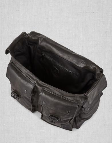 Belstaff - Colonial Messenger Shoulder Bag - Black - £650 - 75610370 L81N0556 90000 - i.jpg
