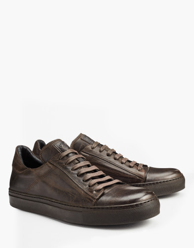 Belstaff - Wanstead Low Sneakers - Black Brown- £295 - 77800201 L81A0273 90023.jpg