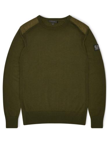 Belstaff - Kerrigan Crewneck - £250 - Pale Military Green - 71130284 K67A0031 20039.jpg