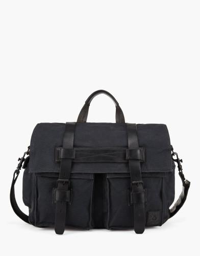 Belstaff - Colonial Messenger Shoulder Bag - Black - £350 - 75610370 C61N0118 90000.jpg