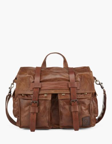 Belstaff - Colonial Messenger Shoulder Bag - Cognac - £650 - 75610370 L81N0556 70002.jpg