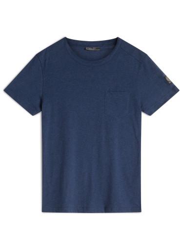 Belstaff - New Thom T-Shirt - -ú65 - Bright Indigo Melange - 71140178 J61A0067 80108.jpg
