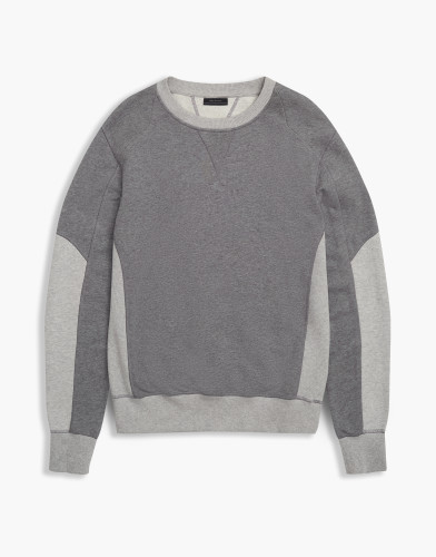 Belstaff - Matterley Sweatshirt - £175 - Dark  GreyPale Grey - 71130366 J61H0066 09957.jpg