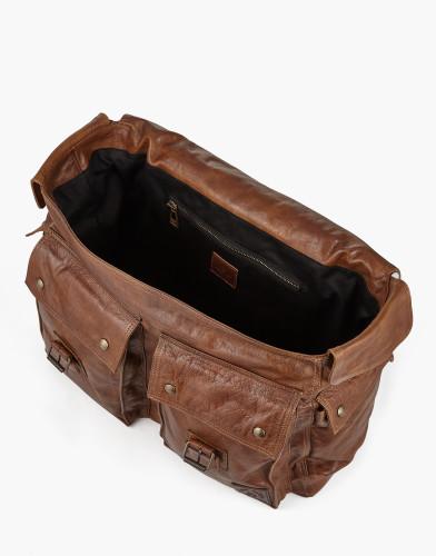 Belstaff - Colonial Messenger Shoulder Bag - Cognac - £650 - 75610370 L81N0556 70002 - i.jpg