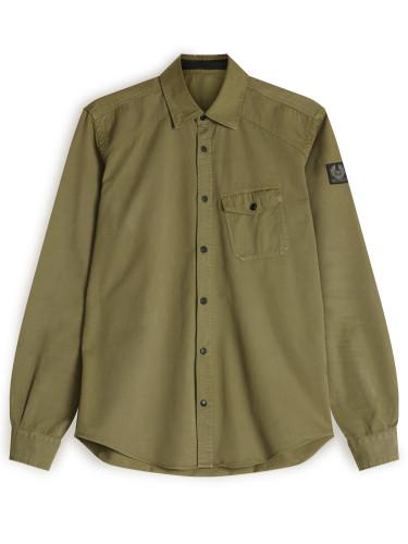 Belstaff - Steadway Shirt - £150 - Military Green - 71120141 C61A0354 20008 (2).jpg