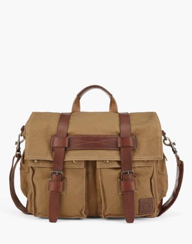 Belstaff - Colonial Messenger Shoulder Bag - Khaki - £350 - 75610370 C61N0118 10070.jpg