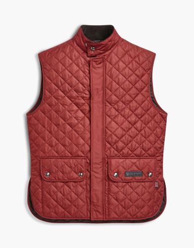 Belstaff Waistcoat Quilted - £195 €225 $295 - Dark Red - 71080002c50r019250001.jpg