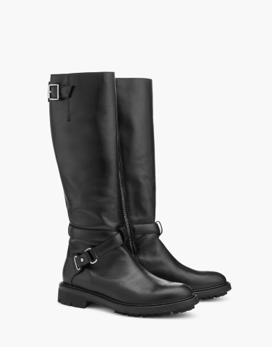 Belstaff AW17 - Tall Riders Boots - £725 E795 $950 - Black - 77851287l81n056590000_ALT1.jpg