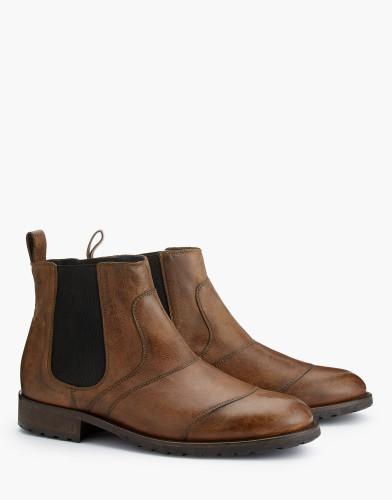 Belstaff AW17 - Lancaster Boots - £395 E495 - $595 - Cognac - 77800219l81a027370002 - i.jpg
