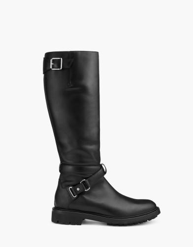 Belstaff AW17 - Tall Riders Boots - £725 E795 $950 - Black - 77851287l81n056590000.jpg