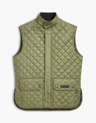 Belstaff Waistcoat Quilted - £195 €225 $295 - Bay Leaf Green - 71080002c50r019220067.jpg