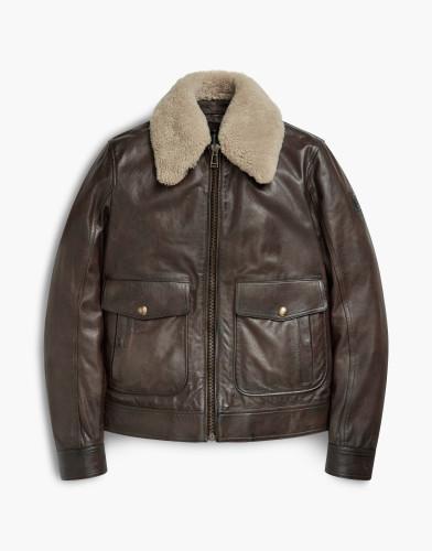 Belstaff - Mentmore Blouson - £1350 €1495 $1895 - Black-Brown -71020566l81n034790023.jpg