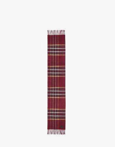 Belstaff AW17 - Signature Check Cashmere Scarf - £275 E295 $375 - Oxblood -75650002c67n006050013_ALT1.jpg