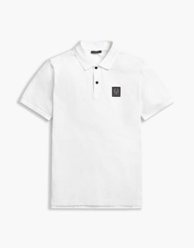 Belstaff - Stannett Polo -Short Sleeve - £85 €95 $115 - White -71140183j61a005410000.jpg