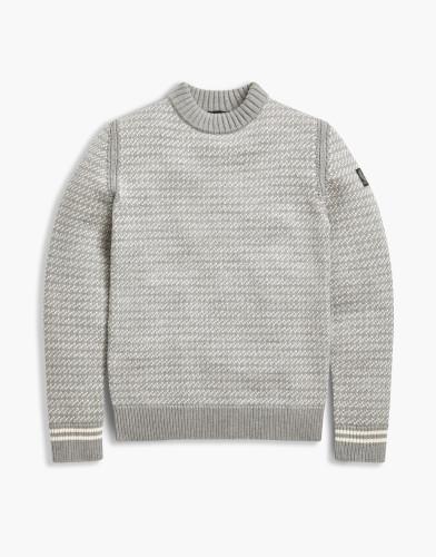 Belstaff - Harrogate Sweater - £325 €350 $425 - grey-white-71130409k67f003109142.jpg