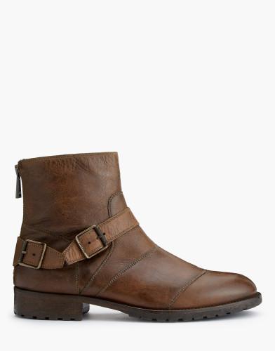Belstaff AW17 - Trialmaster Short Boots - £450 E495 $595 - Cognac - 77800217l81a027370002.jpg