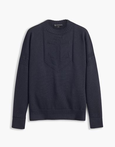 Belstaff - Sabrine Sweater - £425 €450 $550 - Dark Navy - 72130218 K67E0031 80010.jpg