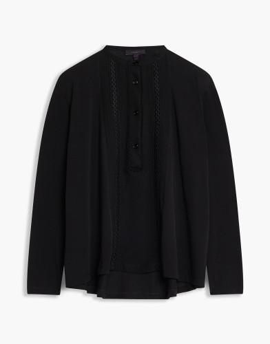 Belstaff - Nora Shirt - £275 €295 $375 - Black - 72130225 J71B0019 90000.jpg