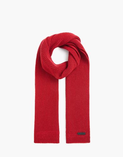 Belstaff AW17 - Portlock Scarf - £135 E150 $175 - Cardinal Red - 75630065k77d004250001.jpg