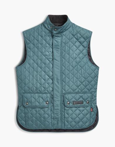 Belstaff Waistcoat Quilted - £195 €225 $295 - Legion Blue - 71080002c50r019280002.jpg