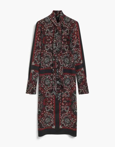Belstaff - Luella Printed Dress - £895 €995 £1195 - Black - 72090383 C65N0075 90000.jpg