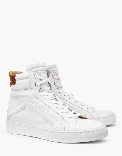 Belstaff AW17 - Ampton Sneakers - £325 E350 $425 - White -77800215l81a056310000_ALT1.jpg