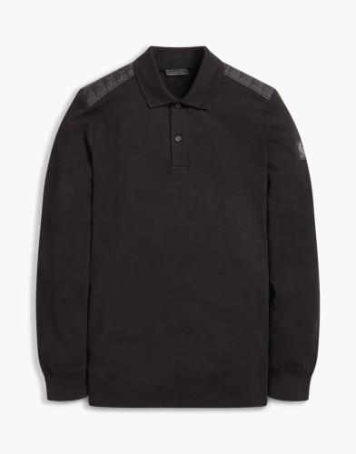 Belstaff - Ashburton Polo - Long Sleeve -£115 €125 $150 - Black - 71130415j61b005490000.jpg