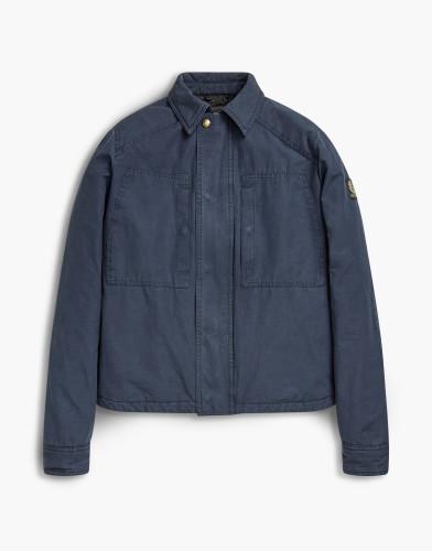Belstaff - Thorncroft Shirt - £350 €395 $495 -  Navy - 71120153c50a044580000.jpg