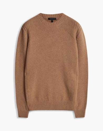 Belstaff - Lanson Knit - £350  €395 $495 - Sepia -  71130419k77d004260013.jpg