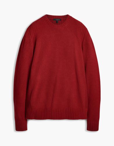 Belstaff - Lanson Knit - £350  €395 $495 - Cardinal Red - 71130419k77d004250001.jpg