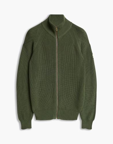 Belstaff - Parkgate Cardigan - £250 €275 $350 - Sage Green - 71160114k61a003720087.jpg
