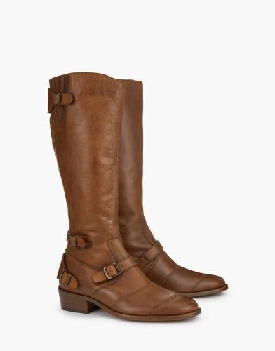 Belstaff - Trialmaster Boots - 595 550 695 - Cognac - 77851311L81A027370002ALT1-jpg