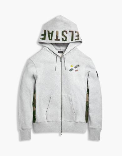 Belstaff x SOPHNET- - Eastbury Sweatshirt - £250  €275 $325 - Grey Melange -  71130398j61a009390015-jpg