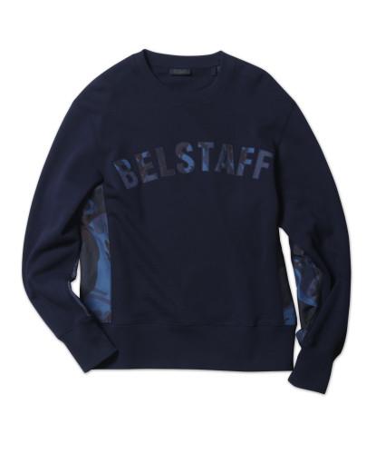 Belstaff x SOPHNET- - Grantley Sweatshirt - £195 €225 $275 - Navy - 71130399j61a009380000-jpg
