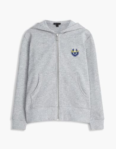 Belstaff Kids - Kingley Belstaff Hoody - £110 €125 $150 - Grey Blue Print - 73130003j61a010709008-jpg