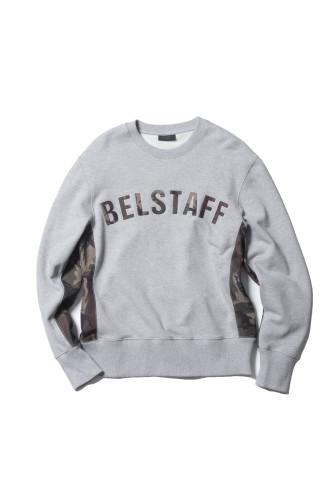 Belstaff x SOPHNET- - Grantley Sweatshirt - £195 €225 $275 - Grey Melange - 71130399j61a009390015-JPG