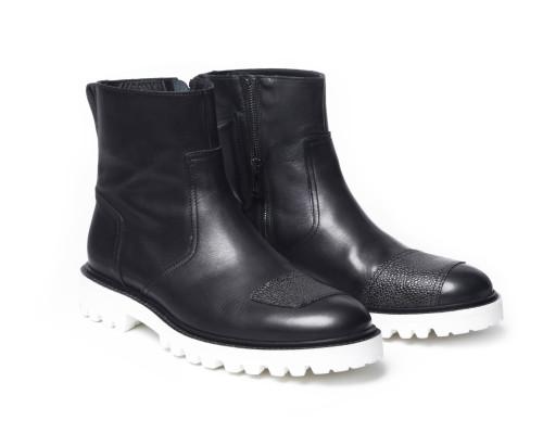 Belstaff x SOPHNET - BXS Boots - £450 €495 $595 Black