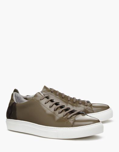 Belstaff X SOPHNET- - BXS Sneaker - £225 €250 $295 - Taupe Leaf Green - 77800203l81a058006212ALT1-jpg