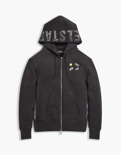 Belstaff x SOPHNET- - Eastbury Sweatshirt - £250  €275 $325 - Black - 71130398j61a009390000-jpg