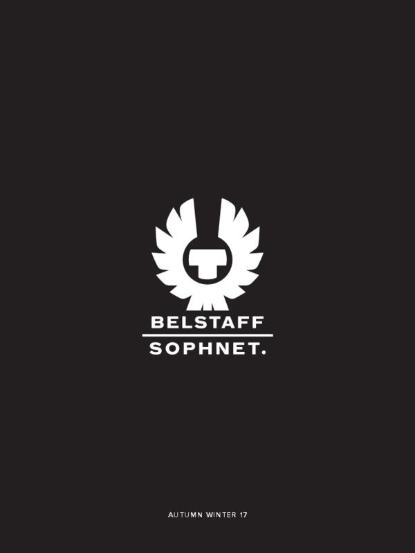 LOOKBOOK BELSTAFF X SOPHNET. AW17-pdf